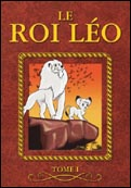 "French ""Le roi Léo (vol. 1)"" DVD-box cover"